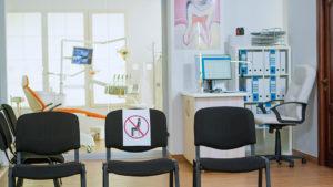 empty dental office
